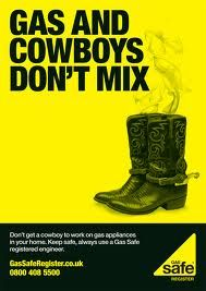 gas & cowboys don't mix